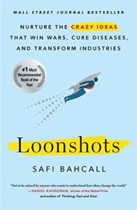 Book cover - Loonshots